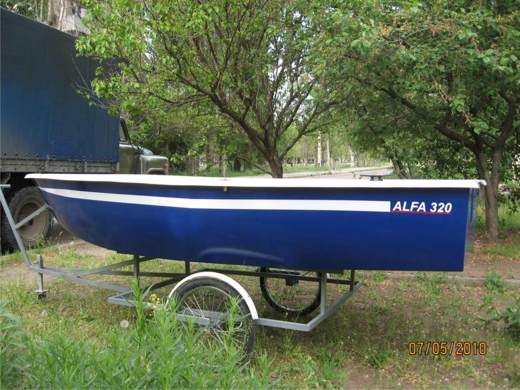 Тачка для перевозки лодки пвх